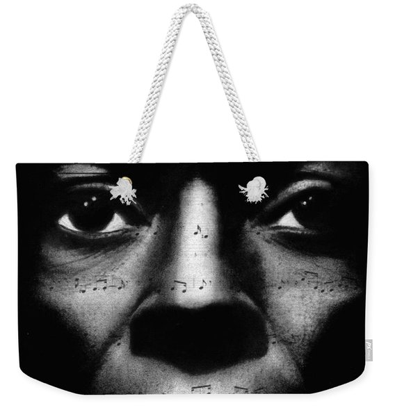Miles Davis Tutu Weekender Tote Bag