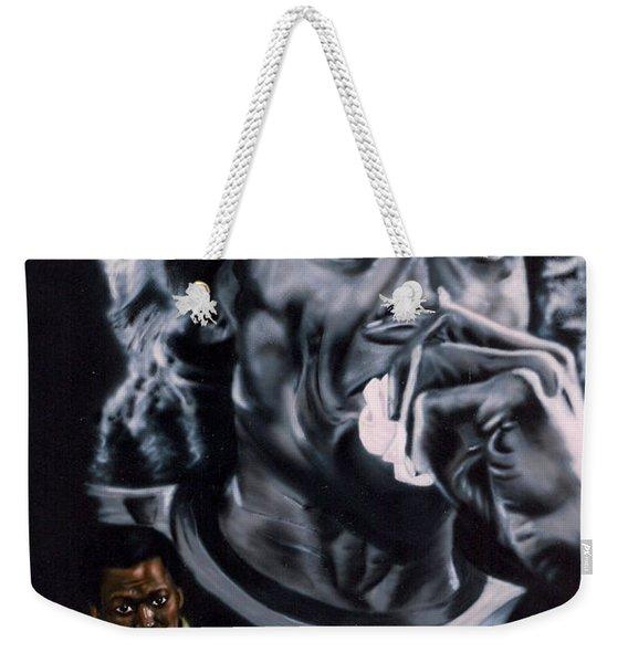 Miles Davis Jazz King Weekender Tote Bag