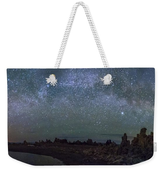 Milky Way At Mono Lake Weekender Tote Bag