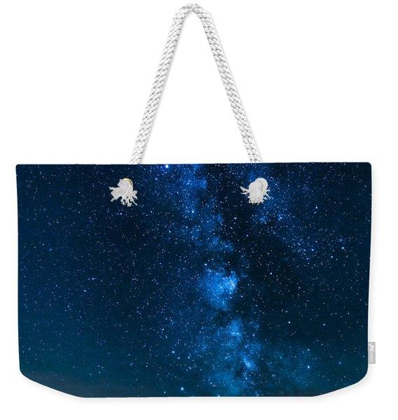 Milky Way Cherry Springs Weekender Tote Bag