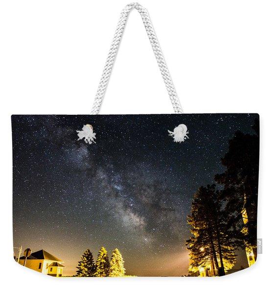 Milky Way From Oldham South Dakota Usa Weekender Tote Bag