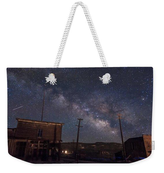 Milky Way Over Bodie Hotels Weekender Tote Bag