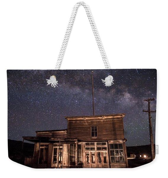 Milky Way Over  Wheaton And Hollis Hotel Weekender Tote Bag