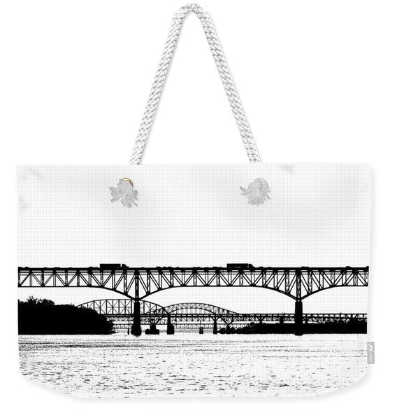Millard Tydings Memorial Bridge Weekender Tote Bag