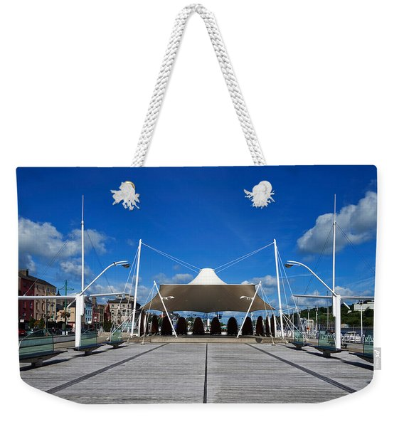 Millenium Plaza, Waterford City Weekender Tote Bag