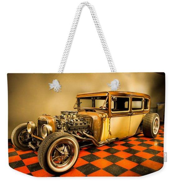 Millers Chop Shop 1929 Dodge Victory Six After Weekender Tote Bag