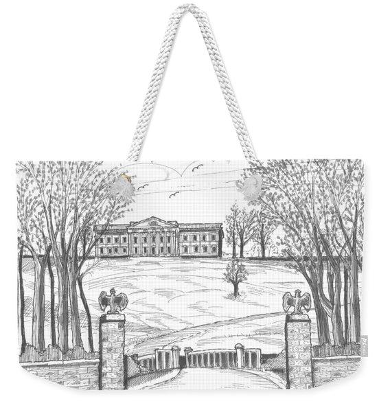 Mills Mansion Staatsburg Weekender Tote Bag