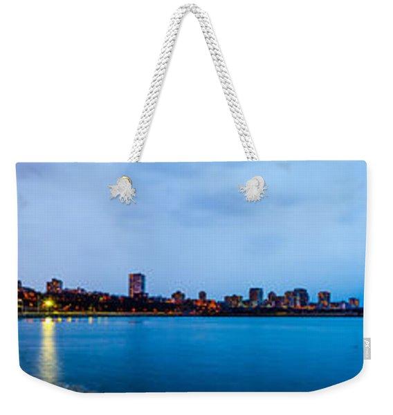 Milwaukee Skyline - Version 1 Weekender Tote Bag