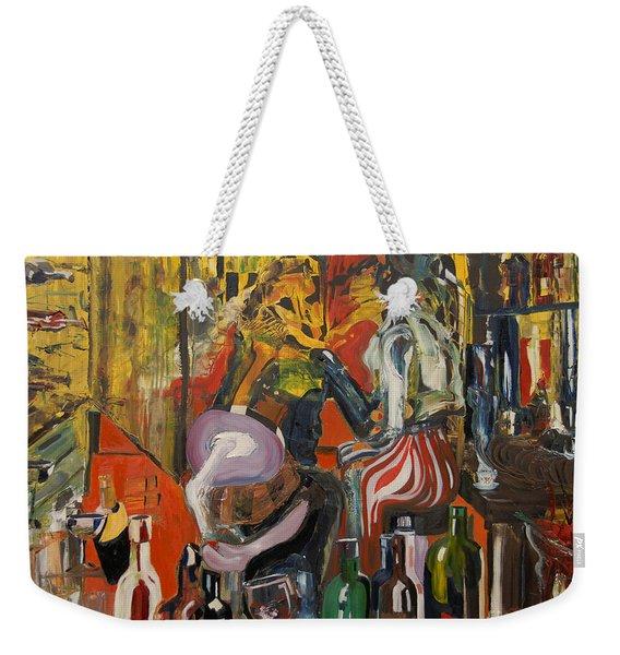 Mind That Hot Tea Weekender Tote Bag