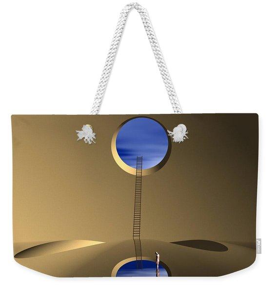 Mind Well Weekender Tote Bag