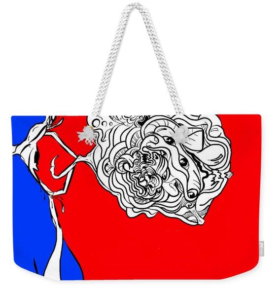Mineds Eye Weekender Tote Bag