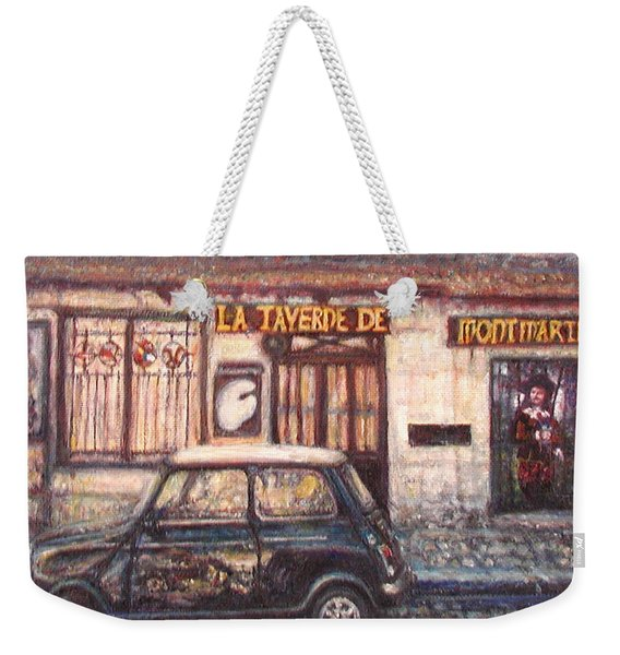 Mini De Montmartre Weekender Tote Bag