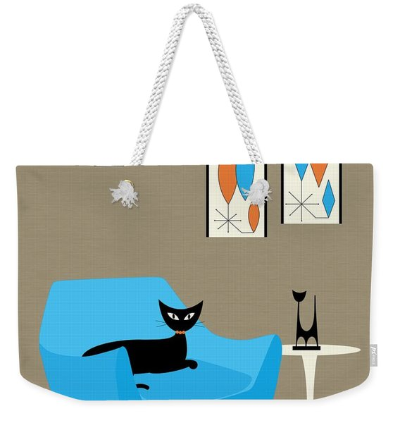 Weekender Tote Bag featuring the digital art Mini Gravel Art 6 by Donna Mibus