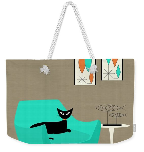 Weekender Tote Bag featuring the digital art Mini Gravel Art 7 by Donna Mibus