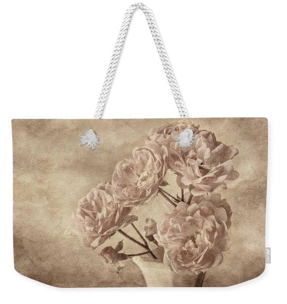 Miniature Rose Bouquet Weekender Tote Bag