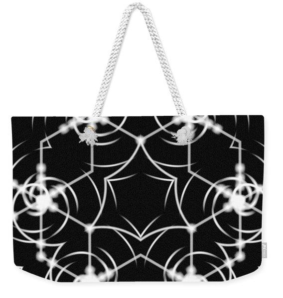 Minimal Life Vortex Weekender Tote Bag
