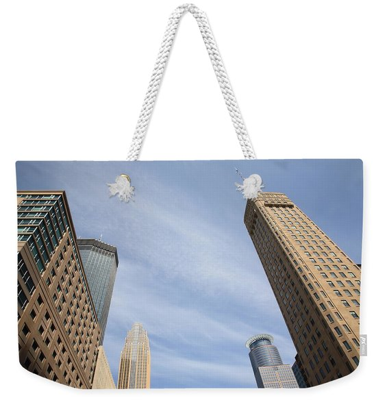 Minneapolis Skyline Weekender Tote Bag