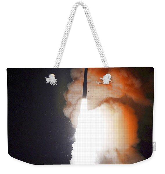 Minuteman IIi Missile Test Weekender Tote Bag