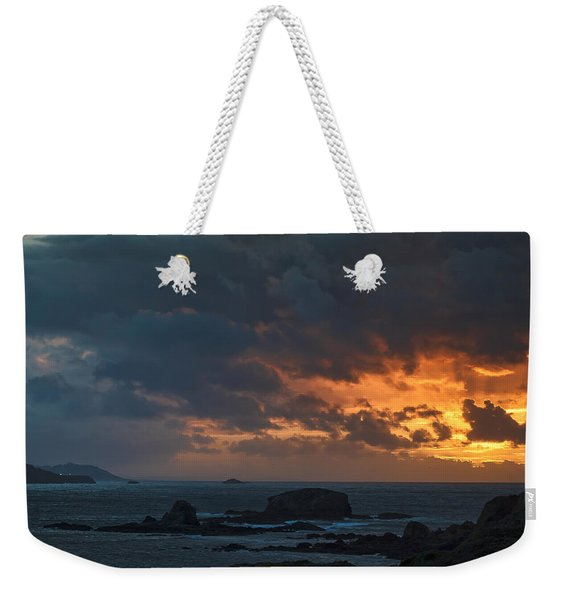 Mirandas Islands Galicia Spain Weekender Tote Bag