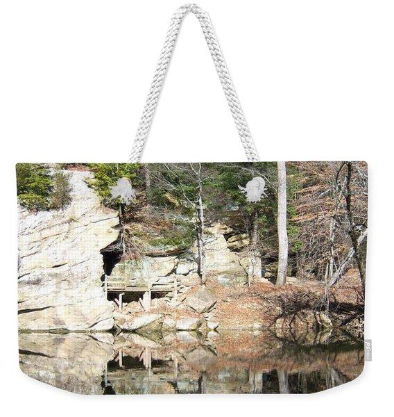 Sugar Creek Mirror Weekender Tote Bag