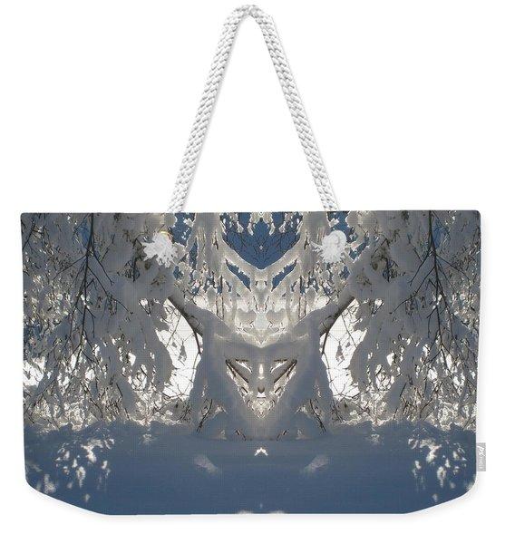 Mirror Of Snow  Weekender Tote Bag