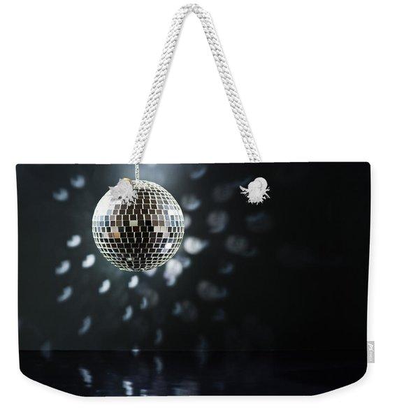 Mirrorball Weekender Tote Bag