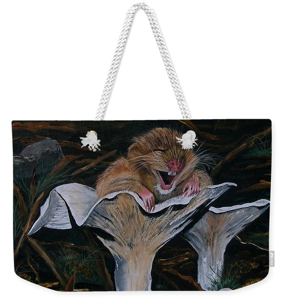 Mischievous Molly Weekender Tote Bag