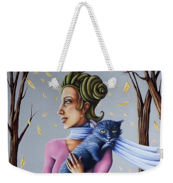Miss Pinky's Outing Weekender Tote Bag