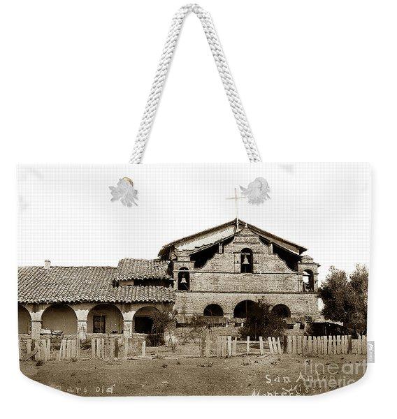 Mission San Antonio De Padua California Circa 1885 Weekender Tote Bag