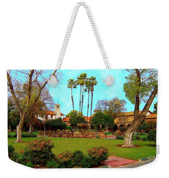 Mission San Juan Capistrano No 11 Weekender Tote Bag