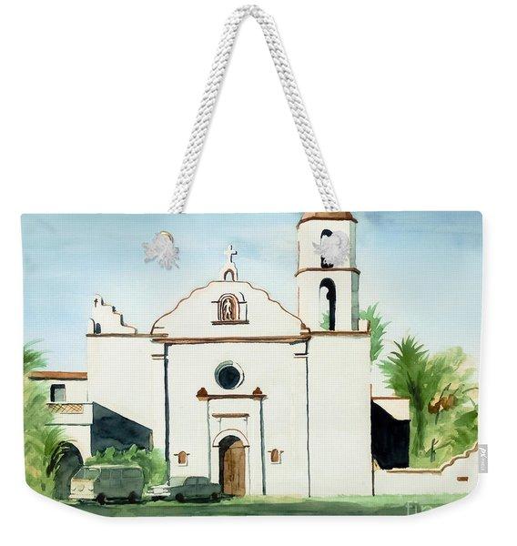 Mission San Luis Rey Colorful II Weekender Tote Bag
