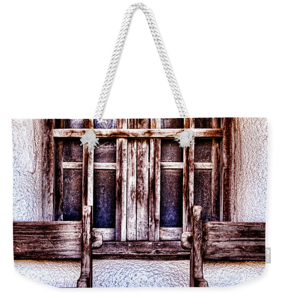 Mission Soledad Window Seating By Diana Sainz Weekender Tote Bag