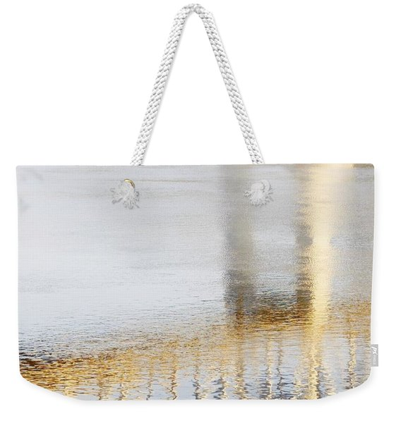 Mississippi Reflection Weekender Tote Bag
