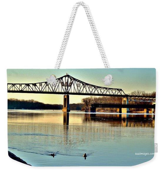 Mississippi Weekender Tote Bag