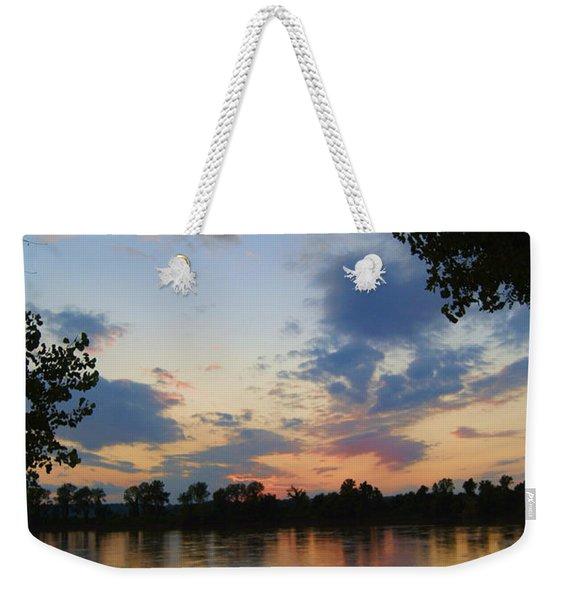Missouri River Glow Weekender Tote Bag