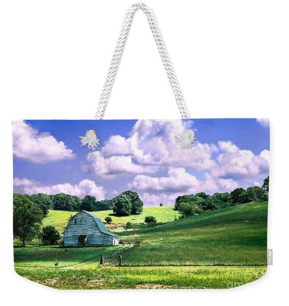 Missouri River Valley Weekender Tote Bag