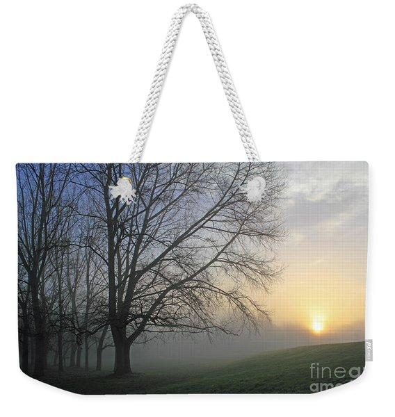 Misty Dawn Weekender Tote Bag