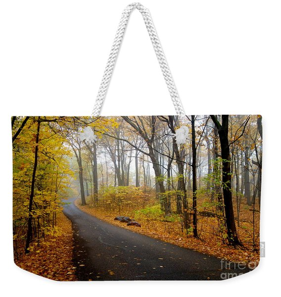 Misty Minnesota Mile Weekender Tote Bag