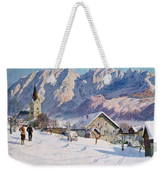 Mitterndorf In Austria Weekender Tote Bag