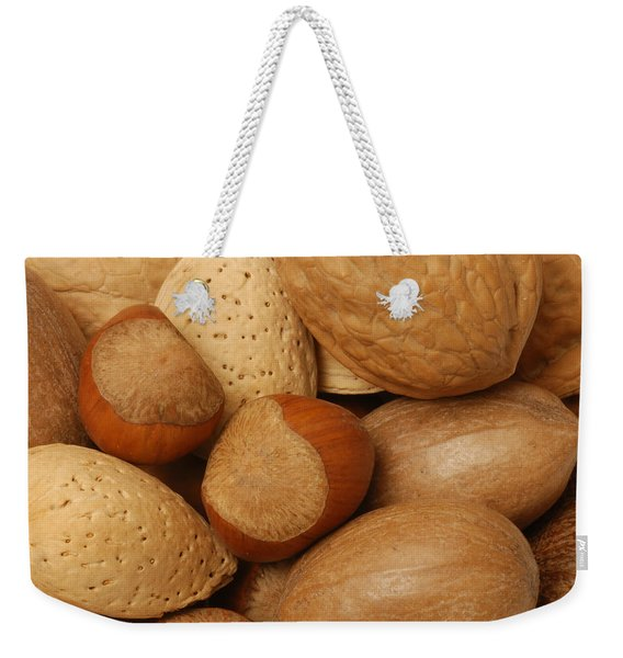 Mixed Nuts Weekender Tote Bag