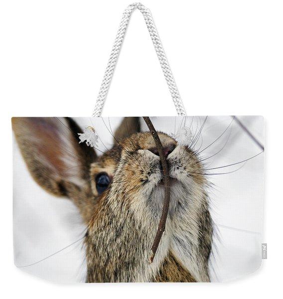 Mmm.. I Like Twiggy... Weekender Tote Bag