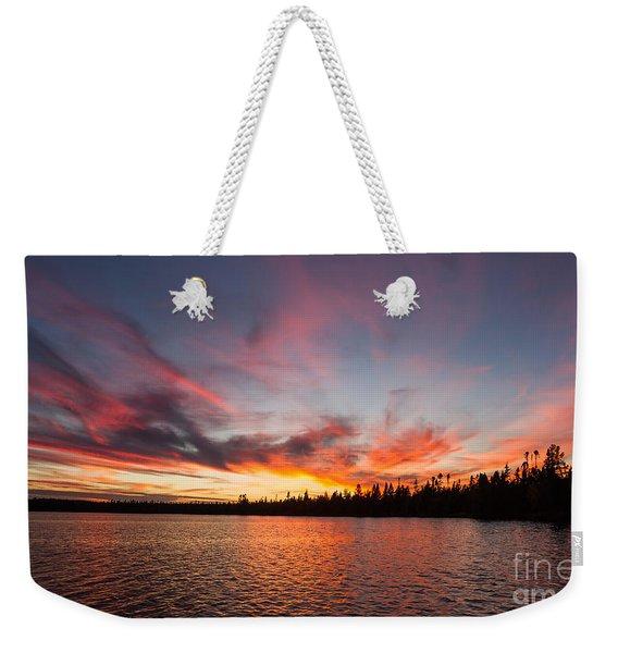 Mn Sunset Symphony Weekender Tote Bag