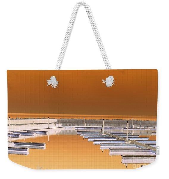 Mocha Dock Weekender Tote Bag