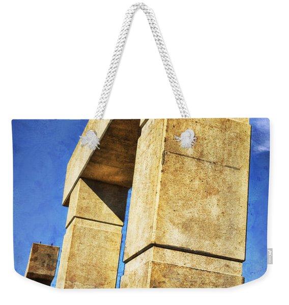 Modern Forum Weekender Tote Bag