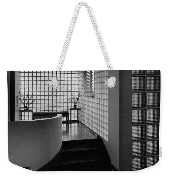 Modern Hallway Weekender Tote Bag