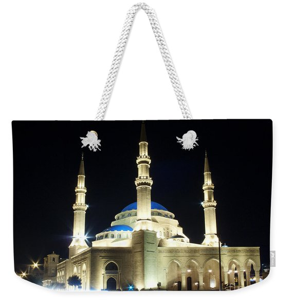 Mohammad Al-amin Mosque In Beirut Lebanon Weekender Tote Bag