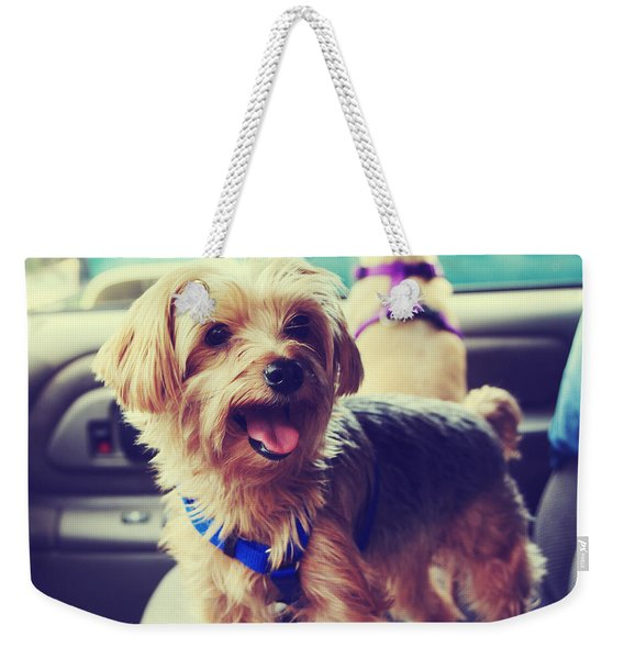 Molly's Road Trip Weekender Tote Bag
