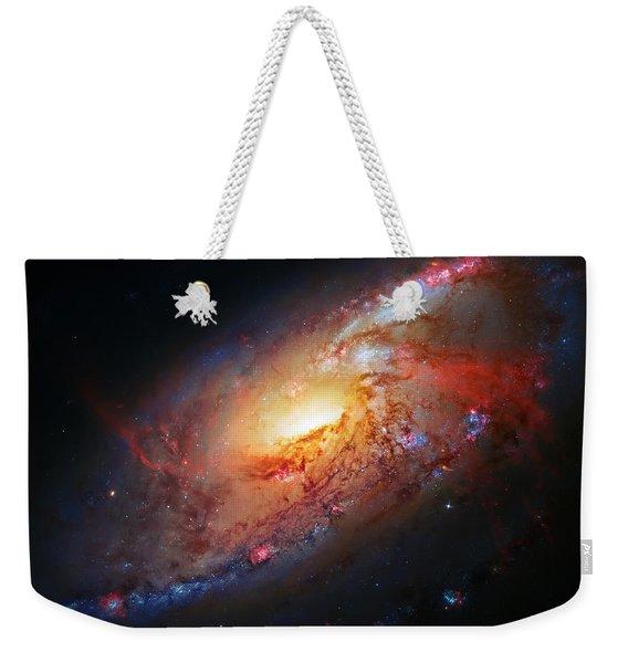 Molten Galaxy Weekender Tote Bag