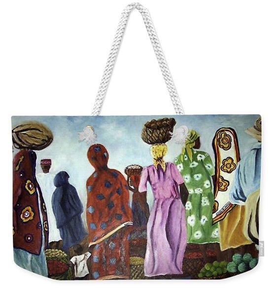 Mombasa Market Weekender Tote Bag