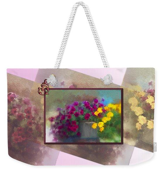 Moms Garden Art Weekender Tote Bag